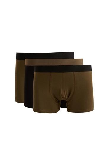 Defacto –Fit Esnek Kumaş Standart Kalıp Boxer Yeşil